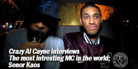 Crazy Al Cayne, The Most interesting MC InThe World