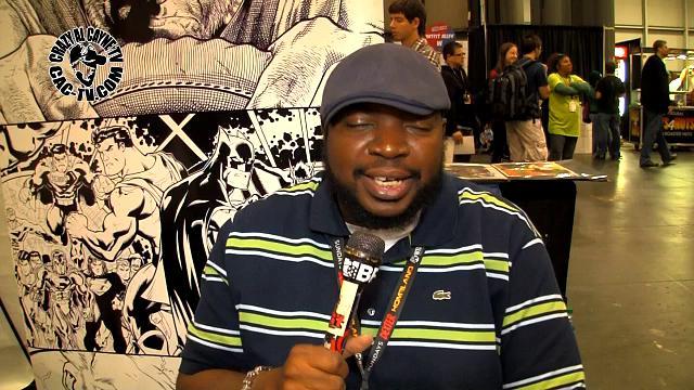 Dexter Vines, comic book inker