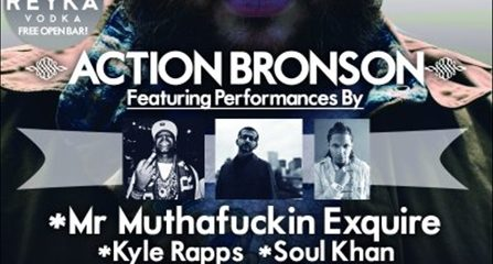 Action Bronson show at southpaw
