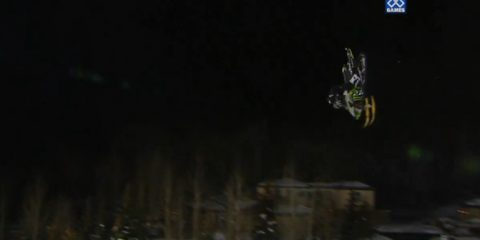 Snomobile Front Flip Winter X Games