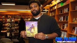Brother Uraeus, Jaycen Wize, Black Comic Book Day