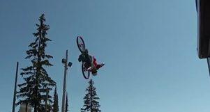 Double Front Flip, Nick Clarke