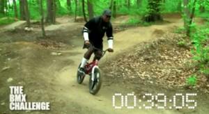 Kev lawrence, Time Trials, BMX