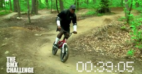 Kev lawrence, Time Trials, BMX
