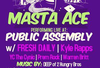 MASTA-ACE-SHOW, public assembly