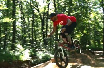 Al Riding, Cunningham trails