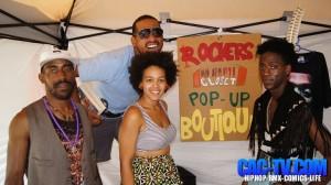 Rockers closet, apparel