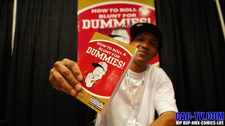 how to roll a blunt for dummies, r prince