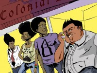 Hafrocentric, comic book