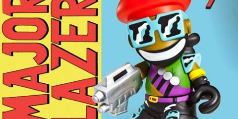 major lazer, kidrobot