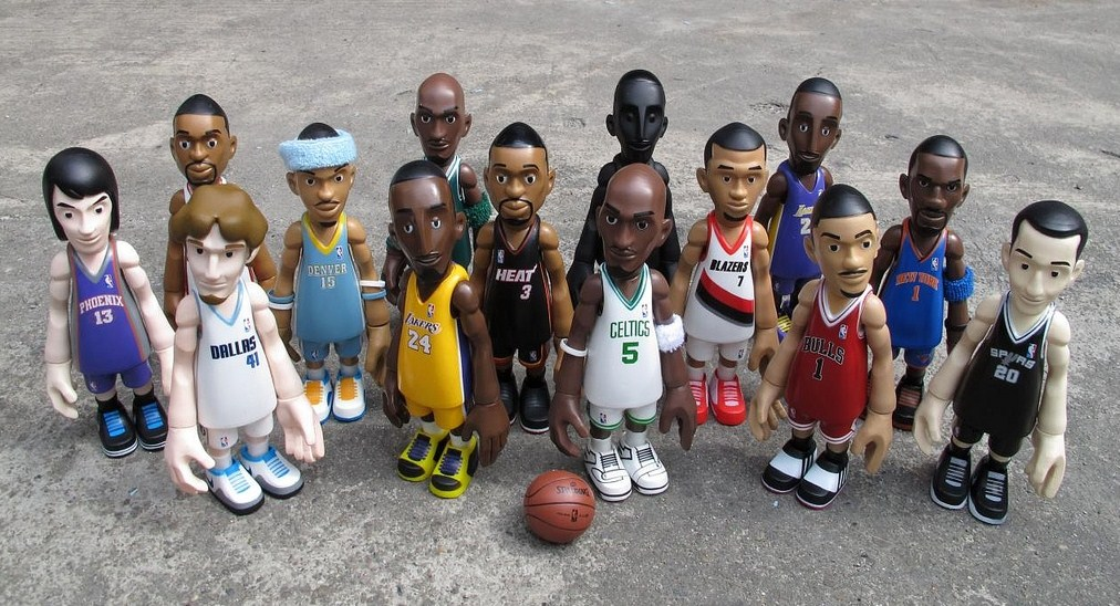 mindstyle cool rain, NBA Collector Series 2 Figures