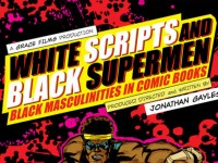 white scripts black supermen