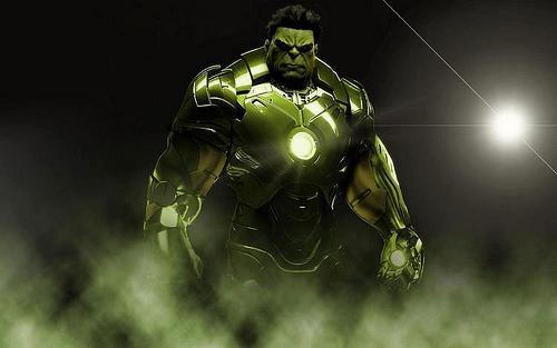 Iron Man Hulk Suit 44