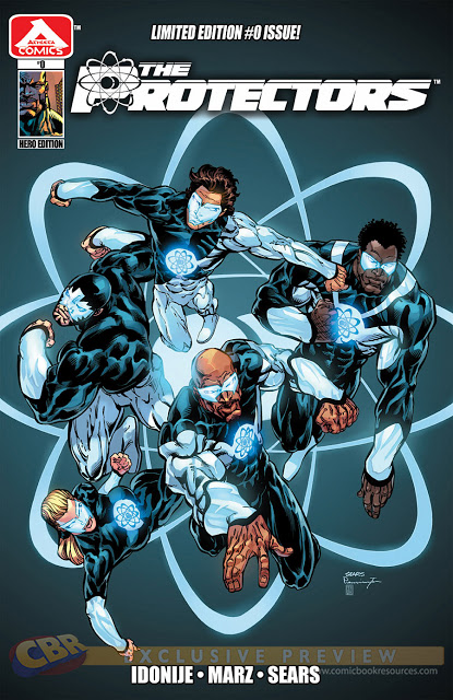 The Protectors Comic Book