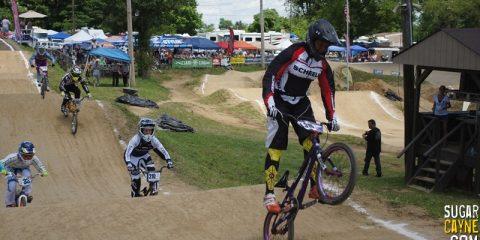 Dom Daniels BMX Leading The Pack