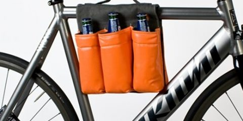 6 bottle bike bag