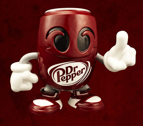 Tracy Tubera Complex Mag Dr Pepper Resin Figure Is Dope