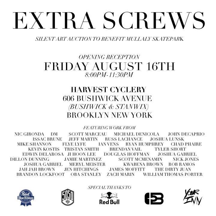 extra screws