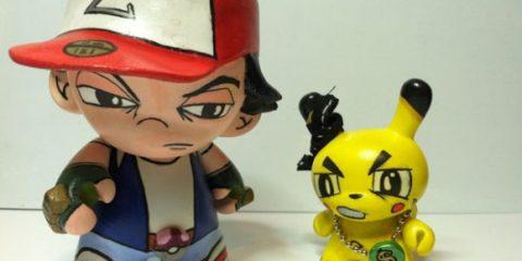 pokemon pikachu gangstas
