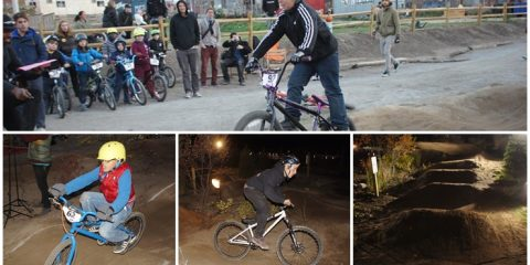 Brooklyn Bike Park Pump Race