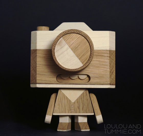 Cool Wood Toys : Cool all wooden toy called mr iso by loulou tummie