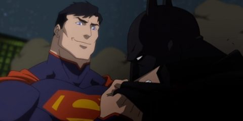 superman ,batman, justice league war