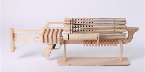 gatling rubber band gun