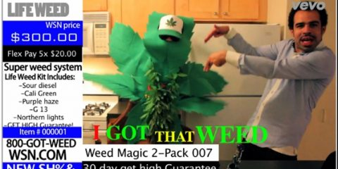 I got that weed, Knight Blade