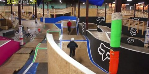 cranx bike park blue line