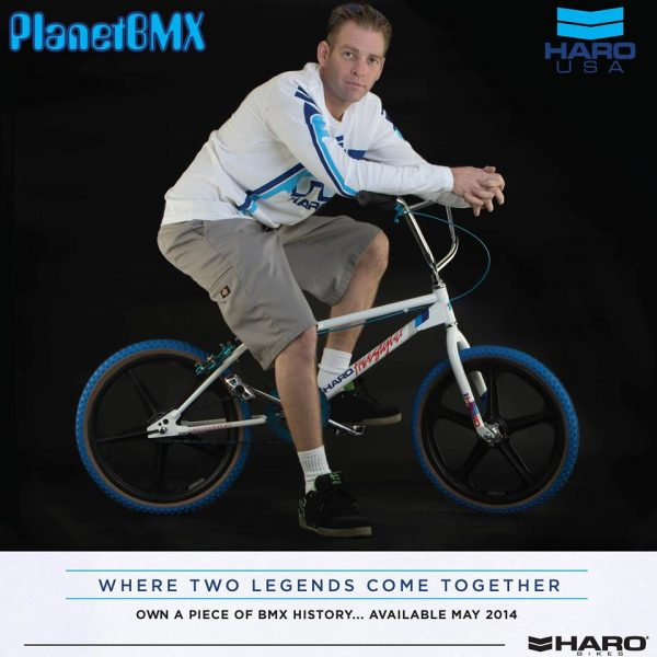 Mike Dominguez Haro Sport Tribute Bike Harobmx Now