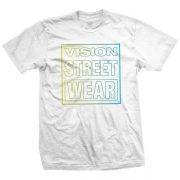 vision street wear neon white