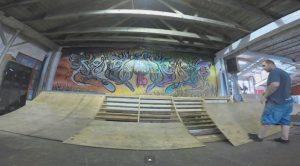 5050 skatepark, ramps