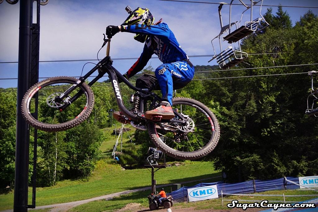 Chloe Woodruff mountain bike