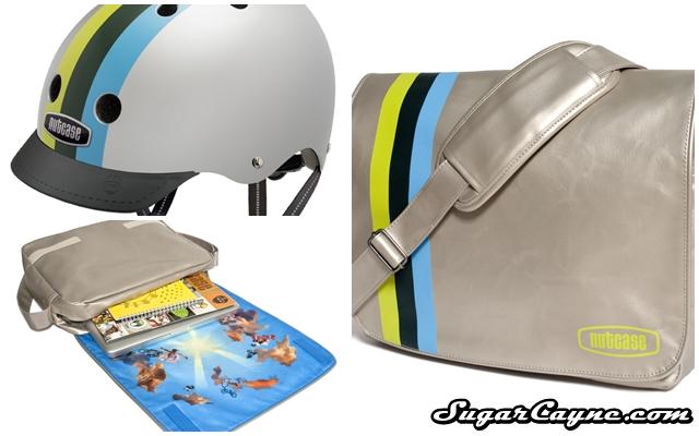 nutcase messenger bag