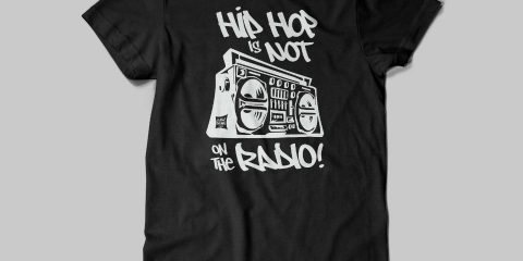 Hip Hop raw deal tee