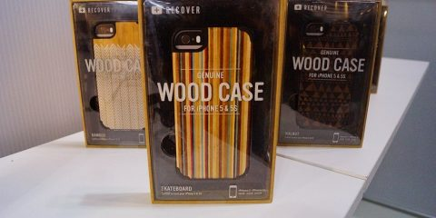 Recover wooden case