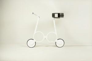 impossible e-bike white