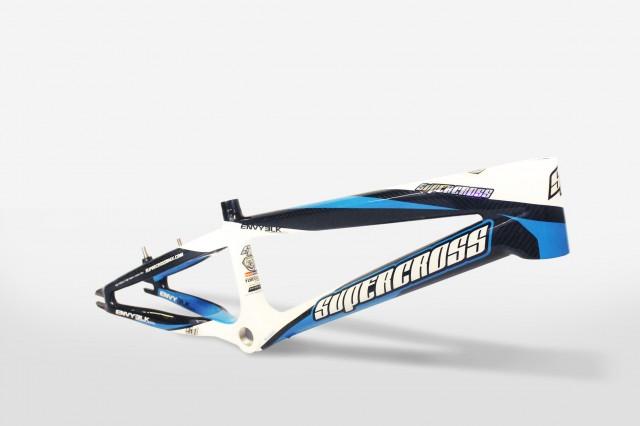 Supercross Envy Blk Carbon Fiber Bmx Race Frame
