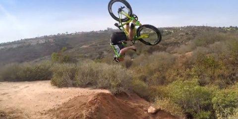 road bike back flip