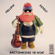 action rider, action bronson