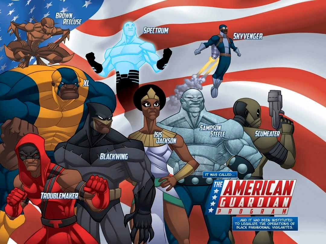 american guardian program comic