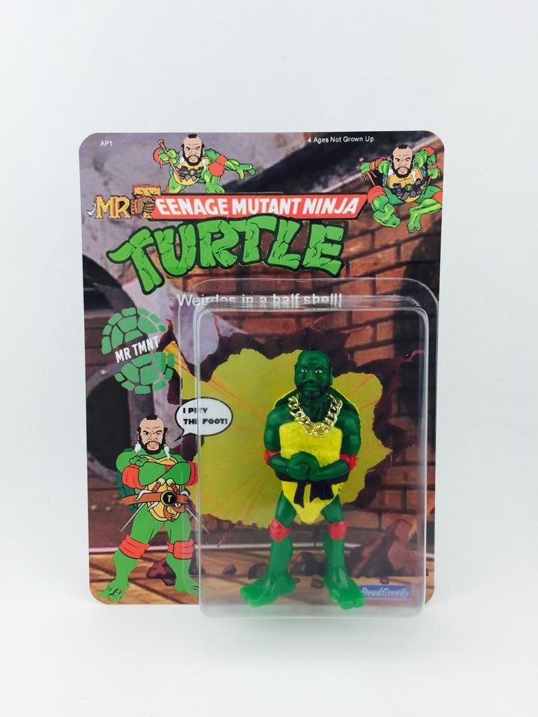 Teenage Mutant Ninja Turtles Mutant Monster Toys : Dead greedy mr tmnt resin figure
