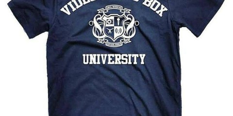 video music box university tee