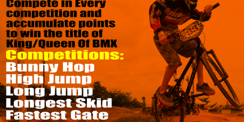 King Of BMX Flier