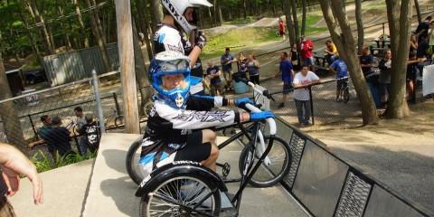 BMX Side Hack Race