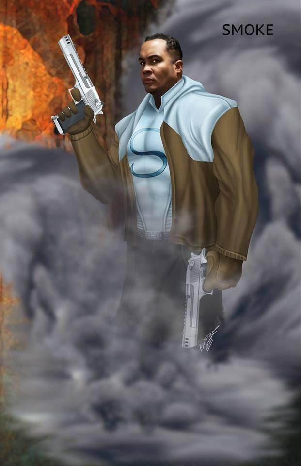 The Smoke, Comic