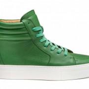 buscemi green sneakers