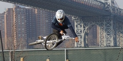 Crazy Al Cayne table, brooklyn Bike Park