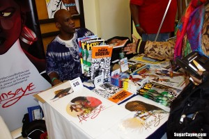 Akenseye Brown, Black Comic Book Festival (2)
