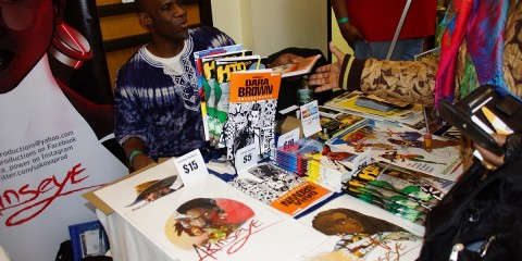 Akenseye Brown, Black Comic Book Festival (2)